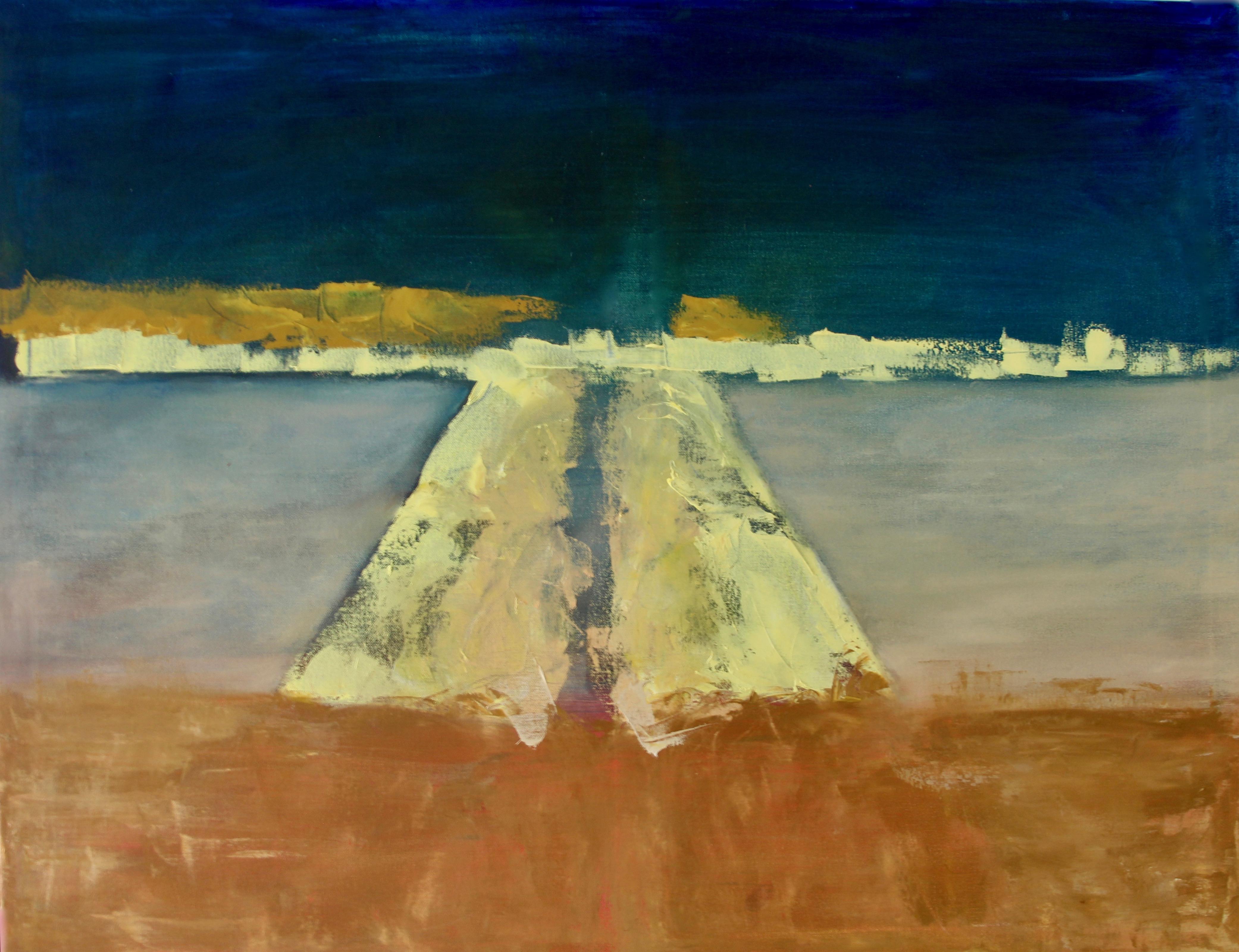 High Summer, 2017 Oil on canvas (90 x 70cm)