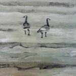 Geese 2015 Mixed media (84 x 59cm).jpg