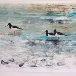 Oyster Catchers Oil on Paper 90x70cm.jpg