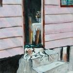 Dog Tired Oil on Canvas 20x25cm.jpg