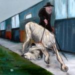 Taking the lead 2015 Oil on Canvas (84x59cm).jpg