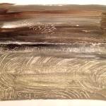 Dusk, 2017 Oil on paper (76 x 56cm)