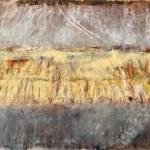 Autumn Field, 2016 Oil on paper (76 x 56cm)