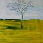 Lone Tree, 2016 Oil on canvas 60x80cm